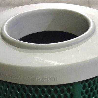 PFRD32 - Round Plastic Flat Lid