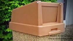 TP35H - Square Plastic Hood-Door